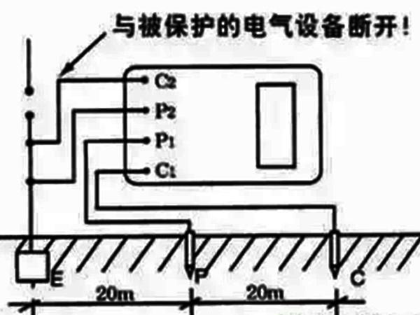 接地电阻测试仪线路图